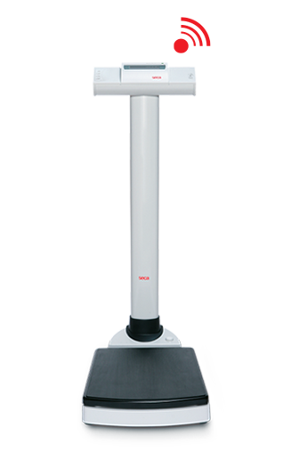 Waga kolumnowa SECA 704 s klasa III Wireless legalizowana